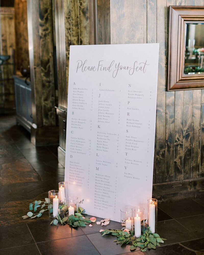 pirouettepaper.com | Wedding Stationery, Signage and Invitations | Pirouette Paper Company | Seating Charts 98