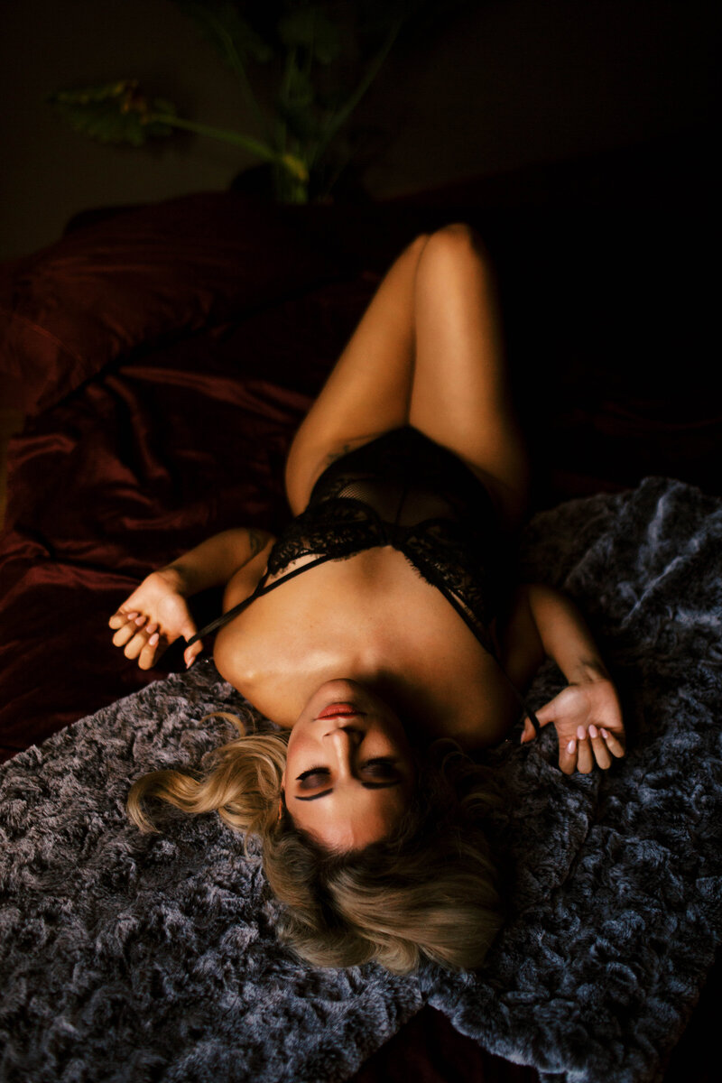 Black Dahlia Boudoir Photography