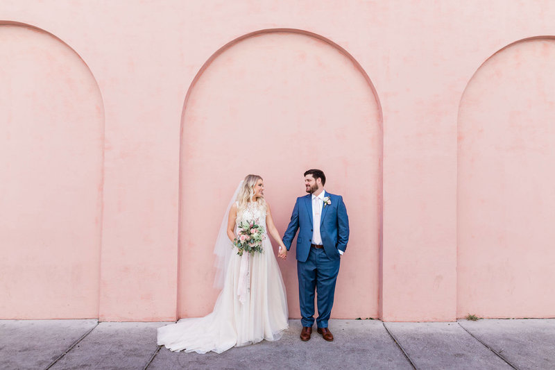 Intimate wedding at The Olde Pink House by Apt. B Photography