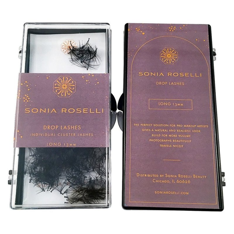 Long Sonia Roselli Drop Lashes