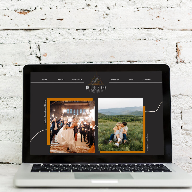 Bailee Starr Photography Fort Worth Weddings Showit Web Design