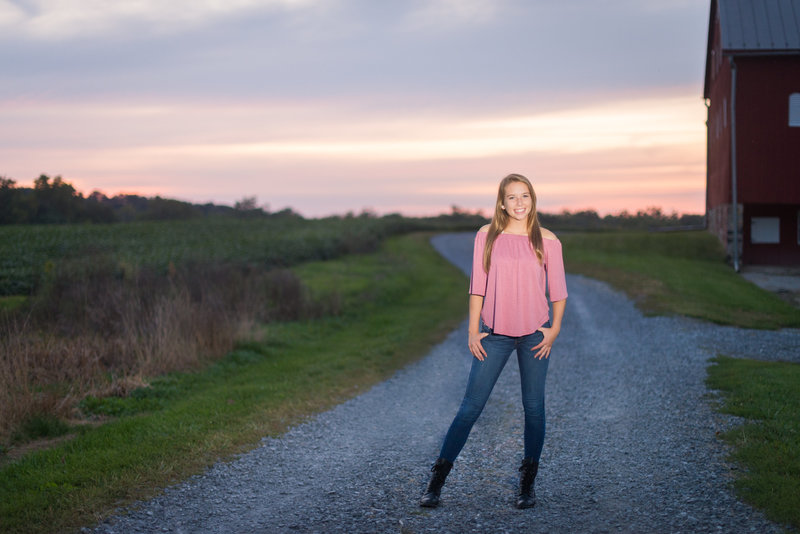 country senior pictures frederick maryland photographer--3