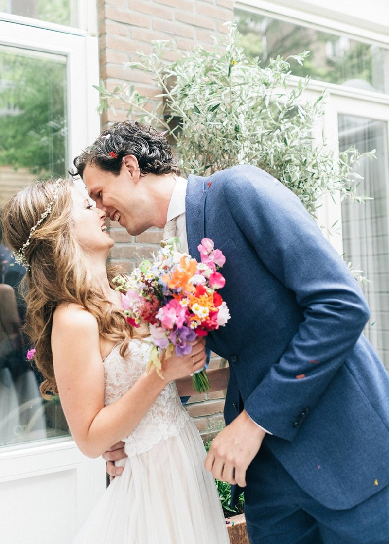 Laura & Pieter - Amsterdam wedding photographer elopement fine art  34