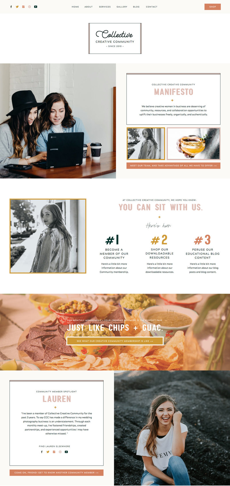 With Grace and Gold - Best Showit Design Designs Designer Designers Theme Themes Template Templates Web Website Websites for Photographers Creatives Small Business Owners - 40
