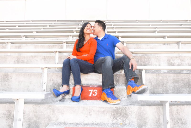 orlando engagement photographer gators