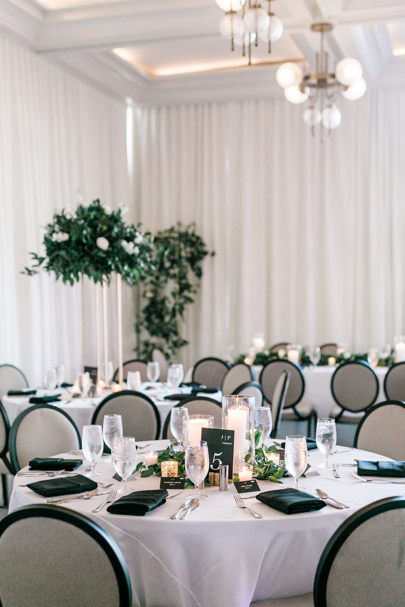 Perry Lane Hotel Wedding Reception