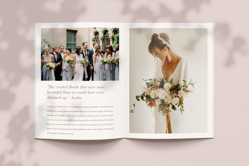 Flower Girl Em Guide Spread - Launch Graphic