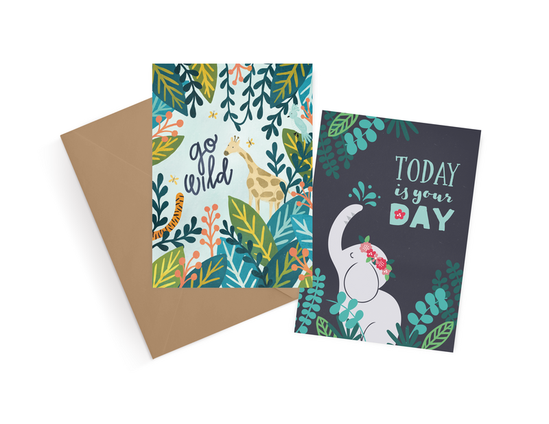 Greeting card designs by Jen Pace Duran of Pace Creative Design Studio