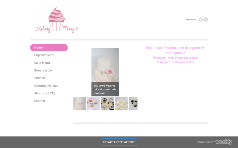 Melody and Teddy Original Home Page