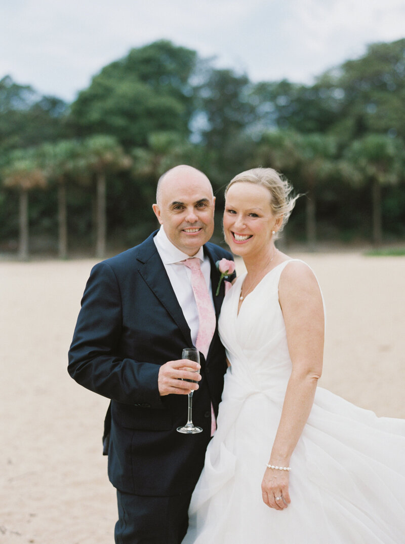 The Boathouse Shelly Beach, Manly Fine Art Film Elopement Wedding Photographer Sheri McMahon --00072
