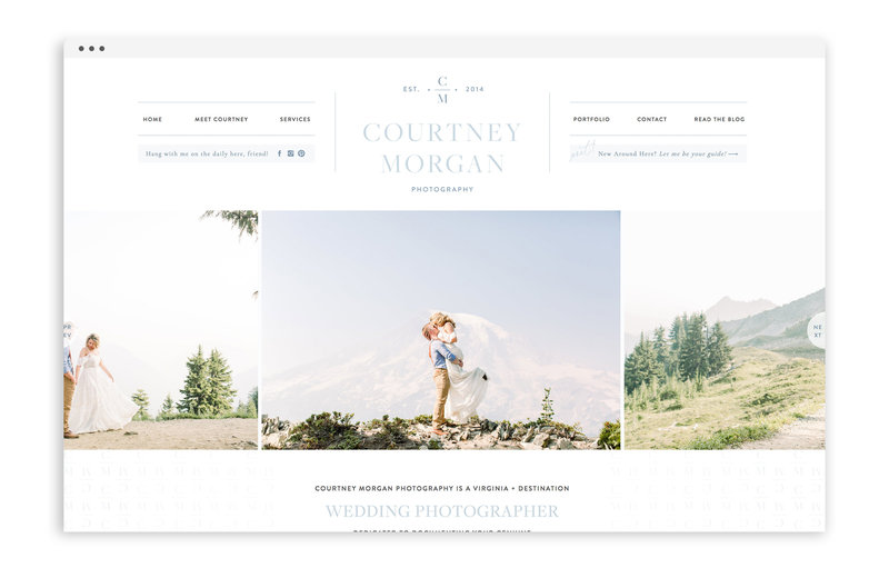 Courtney Morgan Photography - Custom Brand and Showit Web Design Website by With Grace and Gold - 28
