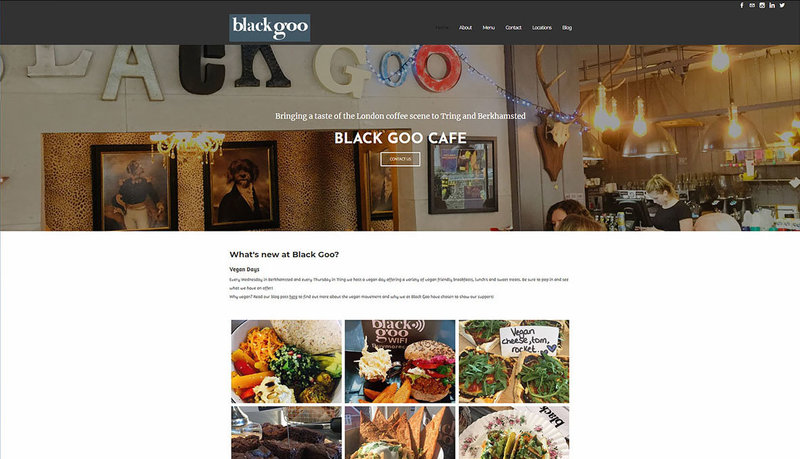 Black Goo Old Website