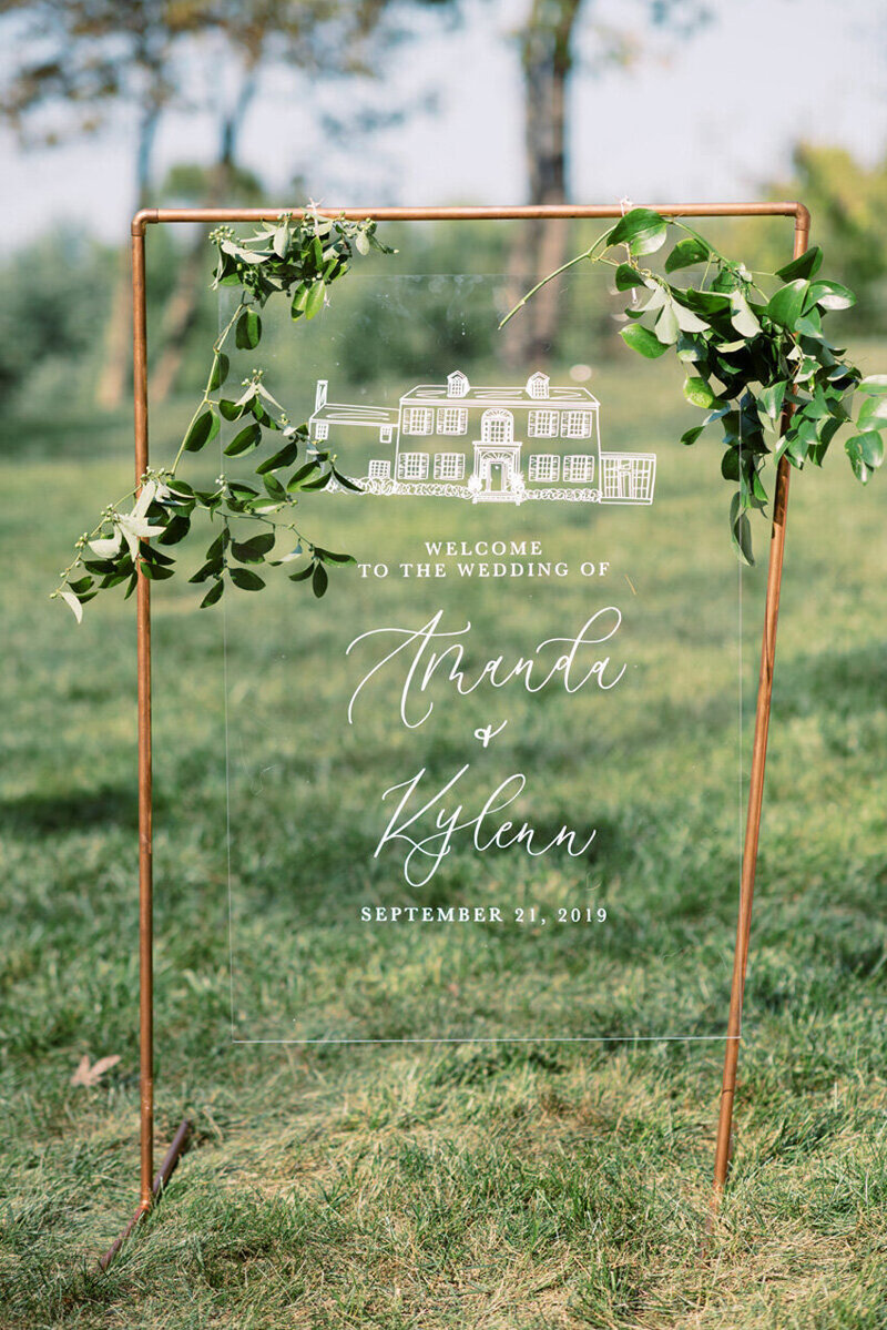 pirouettepaper.com | Wedding Stationery, Signage and Invitations | Pirouette Paper Company | Welcome + Unplugged Signs 16