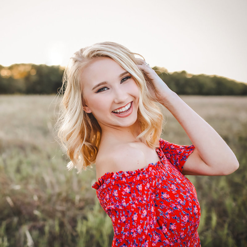 Kate Lovejoy Senior Portrait Photographer Review Pink Fly Photography Dallas, TX