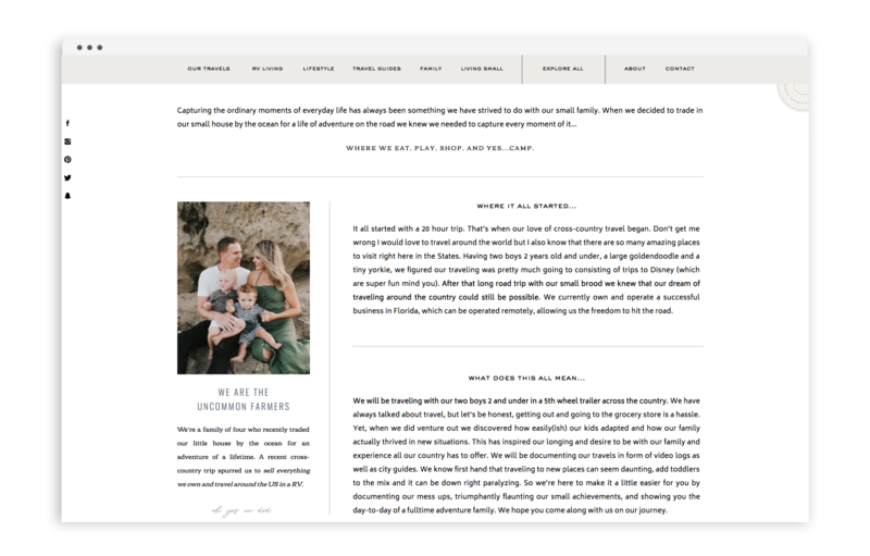 Uncommon Farmer - Brand and Showit Web Design by With Grace and Gold - Photo - 1