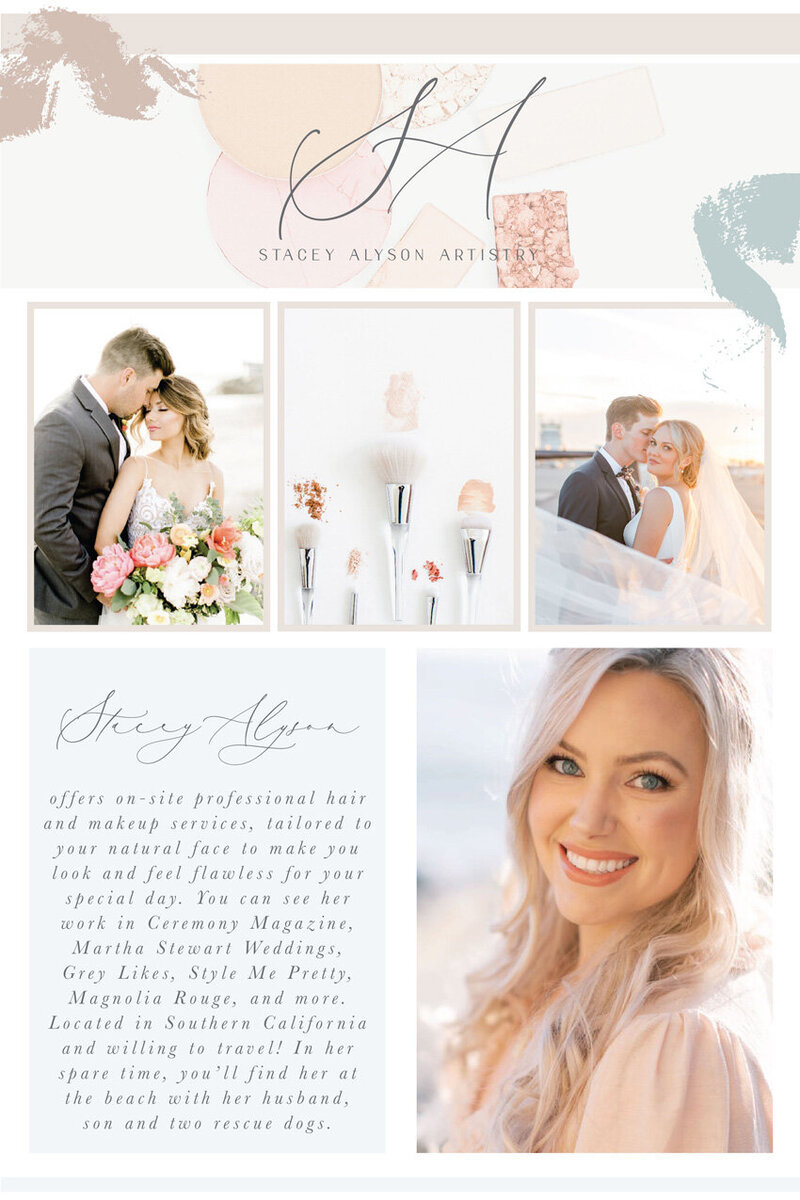 pirouettepaper.com | Logo Design + Branding | Pirouette Paper Company | Stacey Alyson Artistry Wedding and Photoshoot Hair and Makeup in Orange County, CA  09