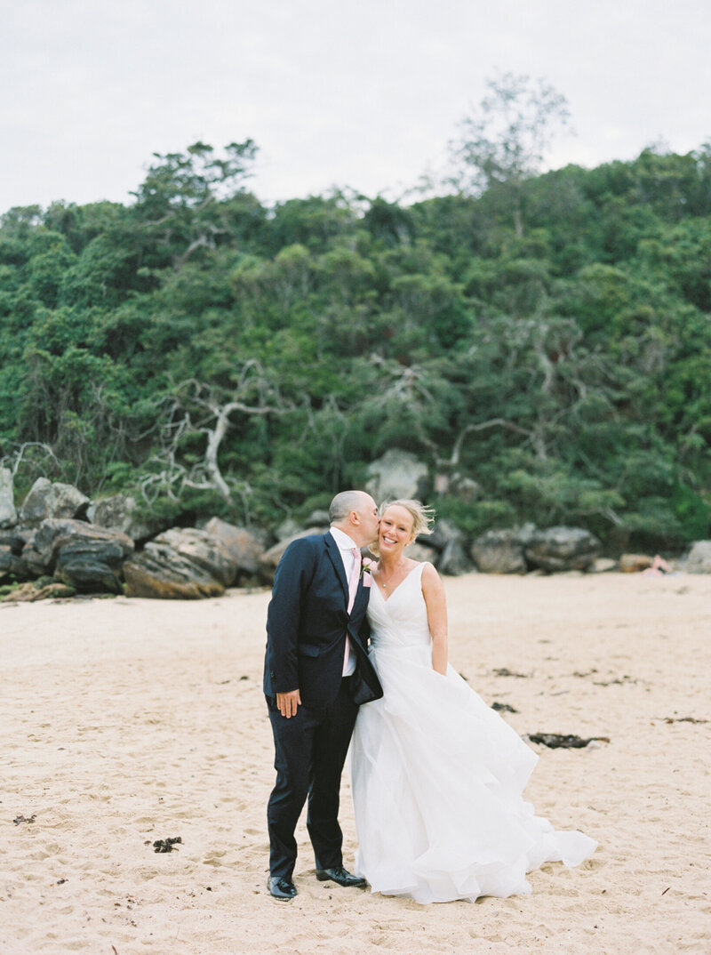 The Boathouse Shelly Beach, Manly Fine Art Film Elopement Wedding Photographer Sheri McMahon --00083