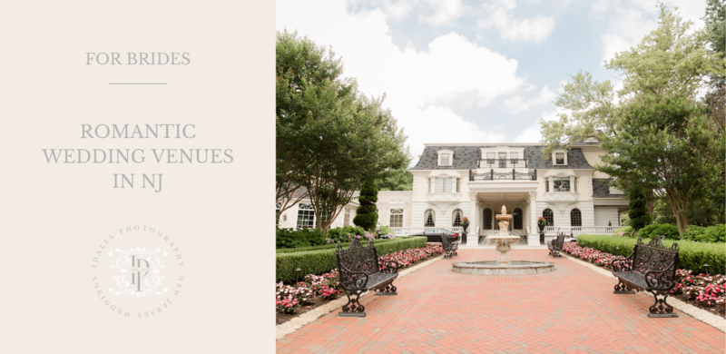 Romantic wedding venues in NJ