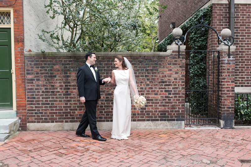 Wedding at the Colonial Dames Society in Philadelphia