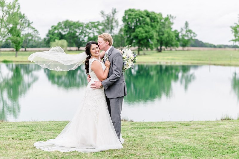 Rustic Spring Meadow Creek Farm Alabama Wedding with Blue Details Photo_0006