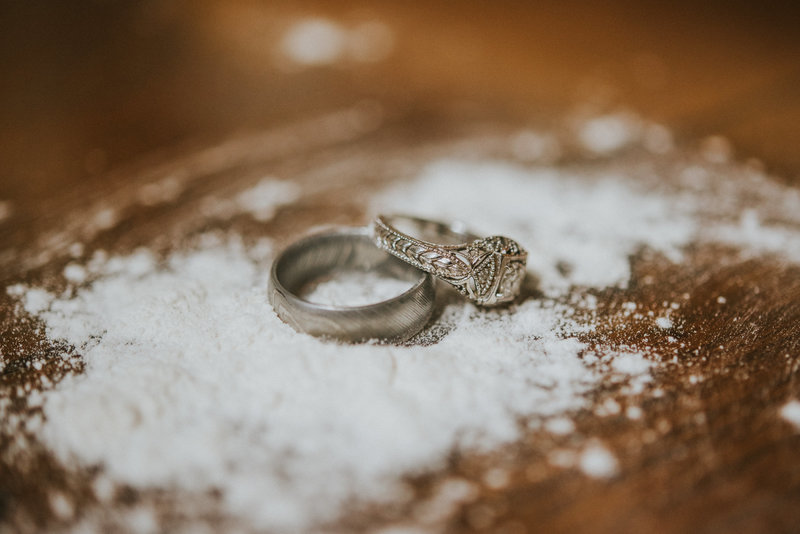 wedding-rings-cooking-flour