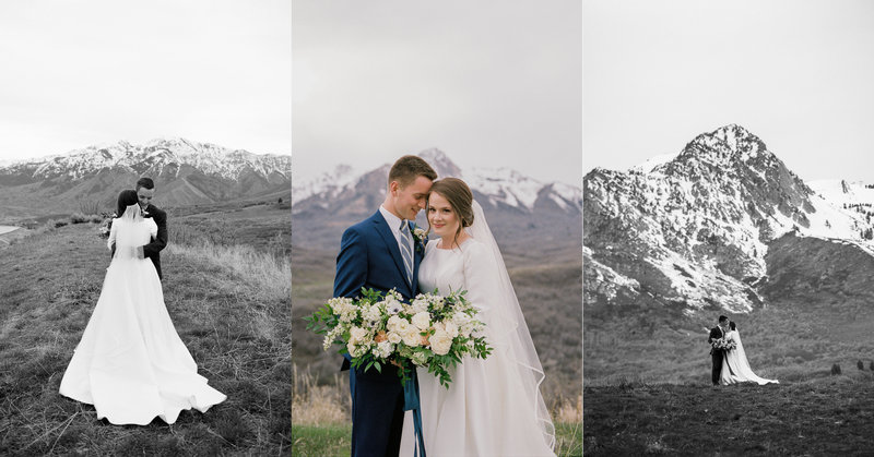 Kate & Craig, Snowbasin Wedding, Morgan Utah