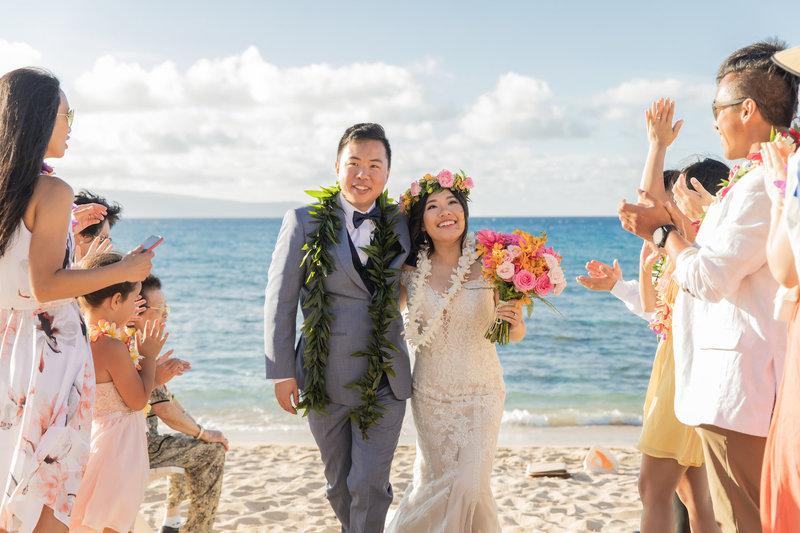 Maui beach wedding packages - Package 3