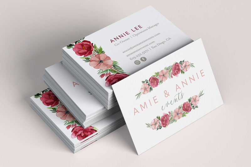 Amie-and-Annie--business-card-design-by-Sarah-B-Calligraphy
