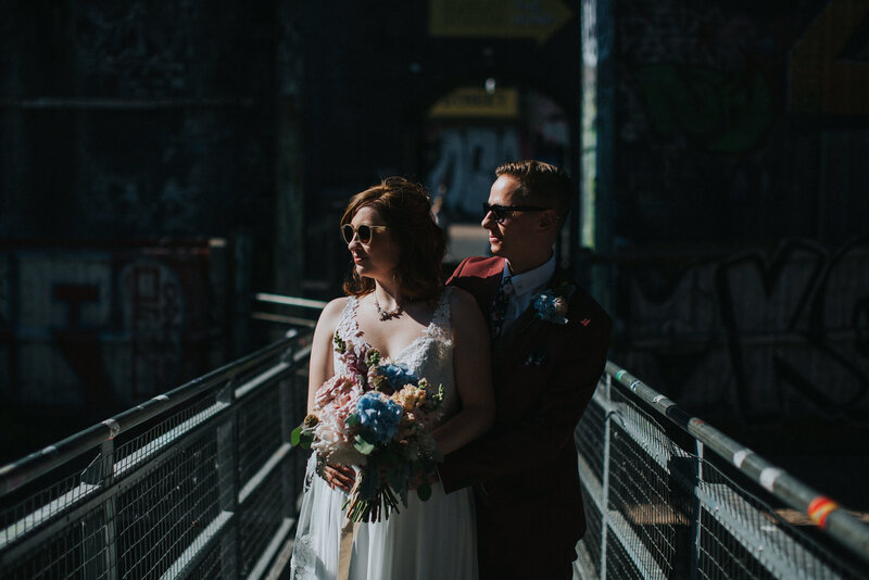 Wedding photography in digbeth, Birmingham