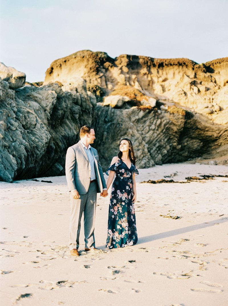 Big Sur Engagement Photos-9