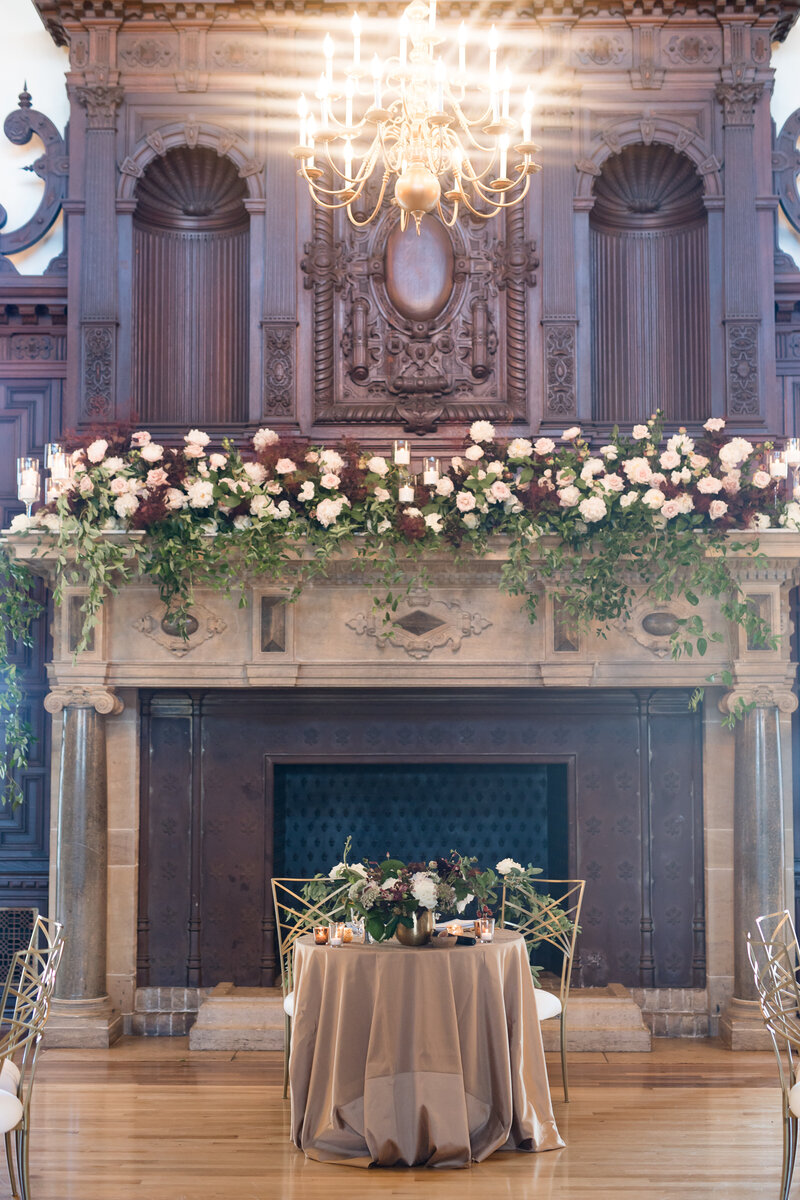 Fall wedding at Eolia Mansion in Waterford, CT
