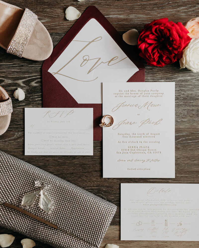 pirouettepaper.com _ Wedding Stationery, Signage and Invitations _ Pirouette Paper Company _ Serra Plaza San Juan Capistrano Wedding _ Jerrod J Photo  (1)