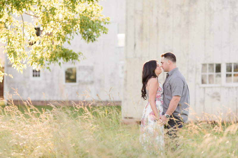 engagement photos in Princeton New Jersey