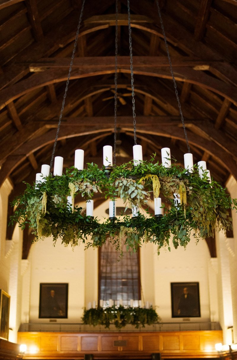 Winter wedding at Yale University in New Haven, CT