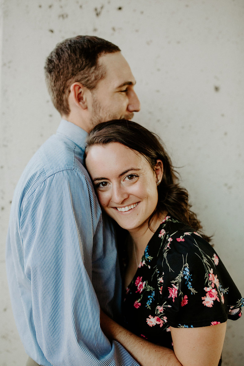 Downtown engagement session, Indianapolis engagement and wedding photographer