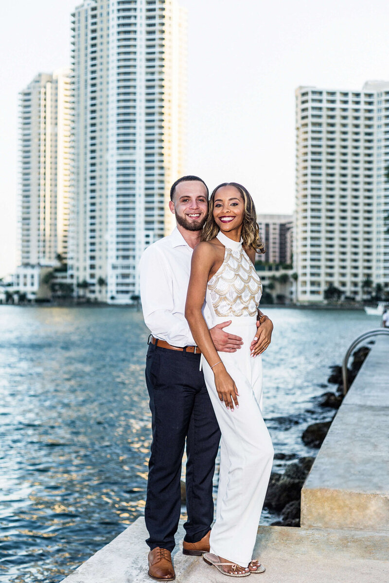 Miami Wedding Photographer Reviews for White House Wedding Photography | Amoi & Robert | Downtown Miami, FL