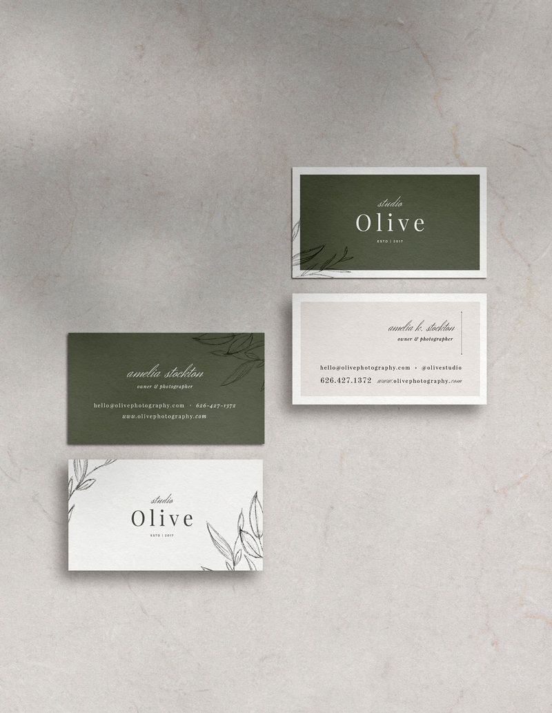 Olive-BusinessCardDesign-Template-01