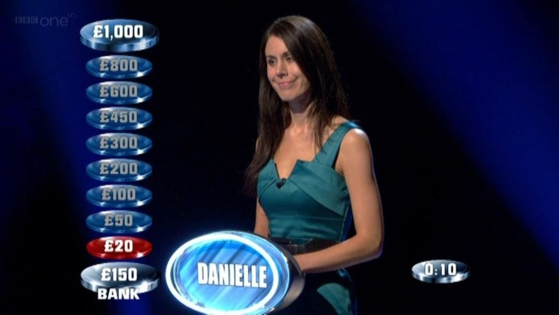 danielle collins on the weakest link body beautiful special edition