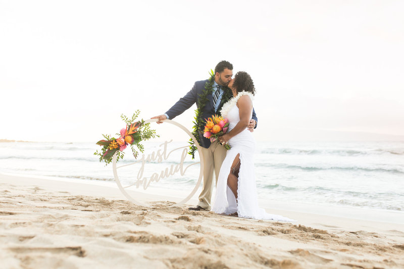 Maui beach wedding packages - Package 1