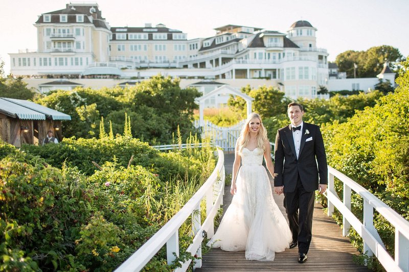 Elegant & Classic Summer Wedding at The Ocean House in Watch Hill, RI