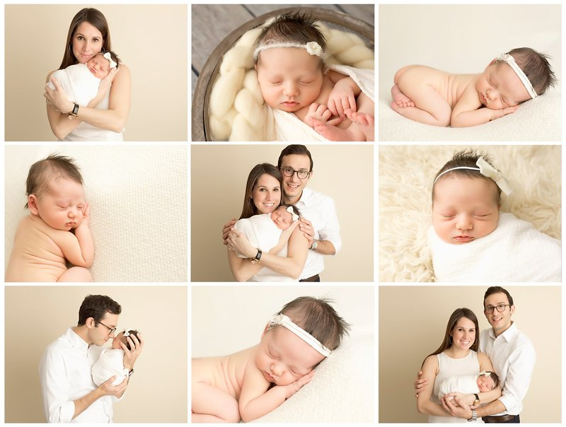 neutral newborn session