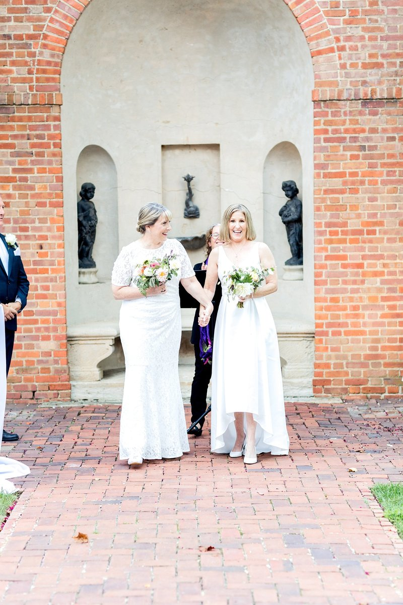 Same Sex Wedding The Dumbarton House DC Soleil and Katie Photography_0763
