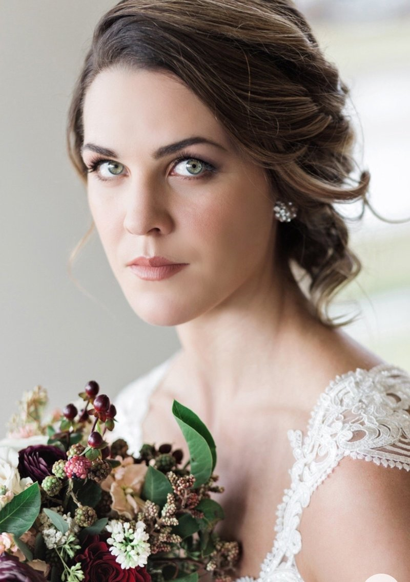 wedding makeup and hair in indianapolis