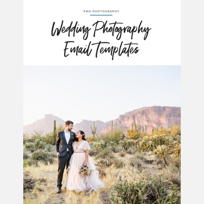 Wedding Photography Email Templates - Cover