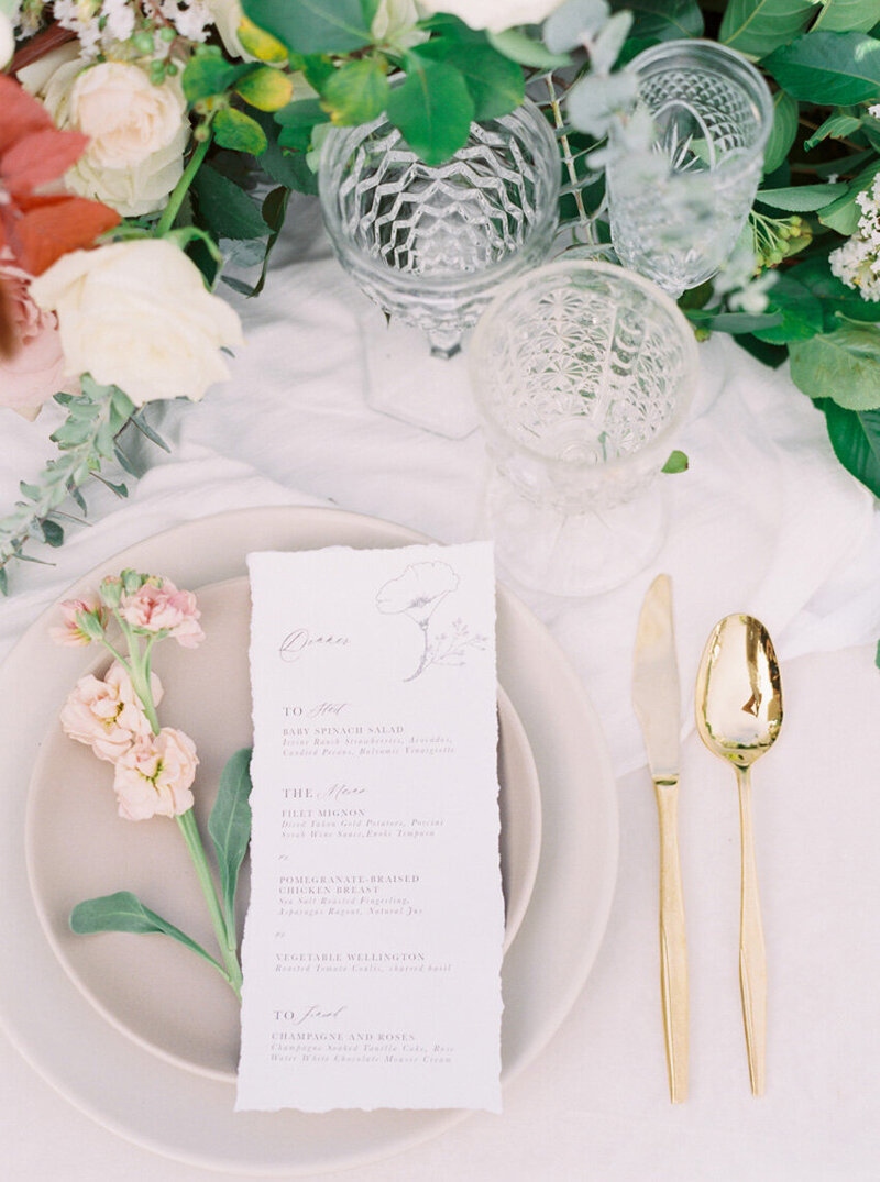 pirouettepaper.com | Wedding Stationery, Signage and Invitations | Pirouette Paper Company | Menus + Programs 60