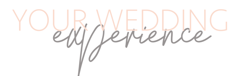 Text: Your Wedding Experience