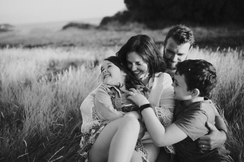 Fun Natural Candid Family Photo for Melbourne Family Photography Session by Sapphire and Stone Photography
