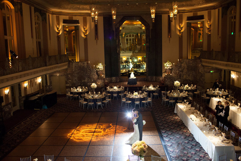 Hilton Hall of Mirrors weddings