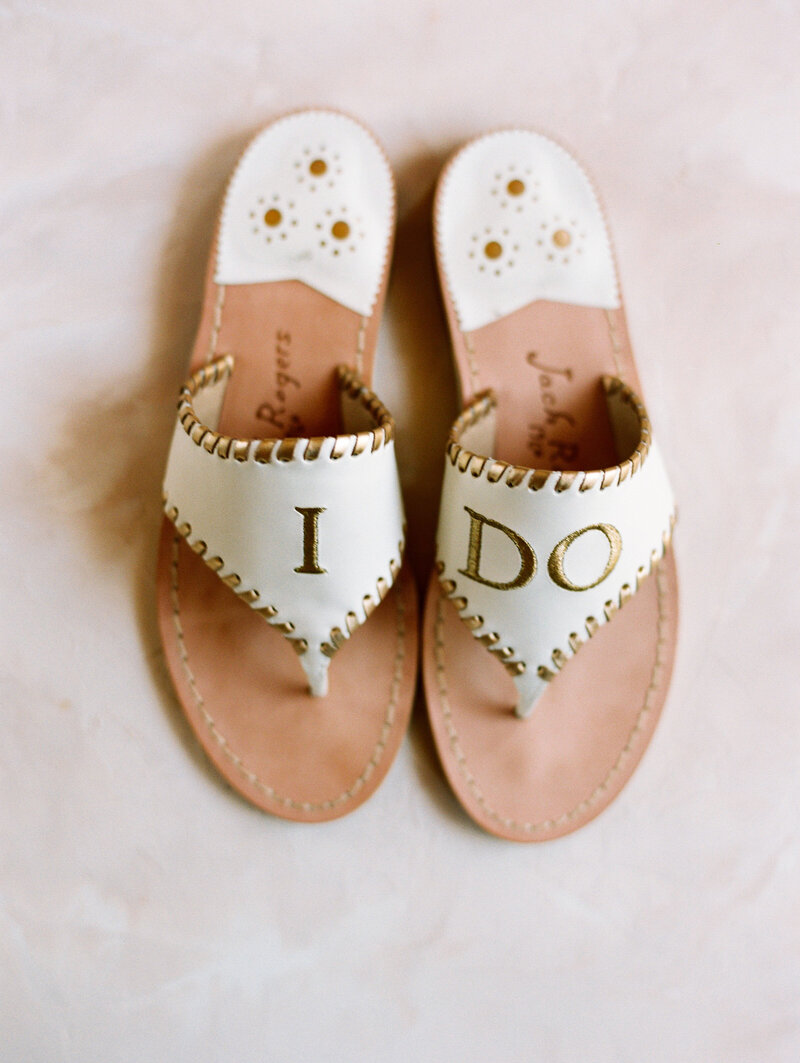 Jack Rogers I Do Wedding Shoes