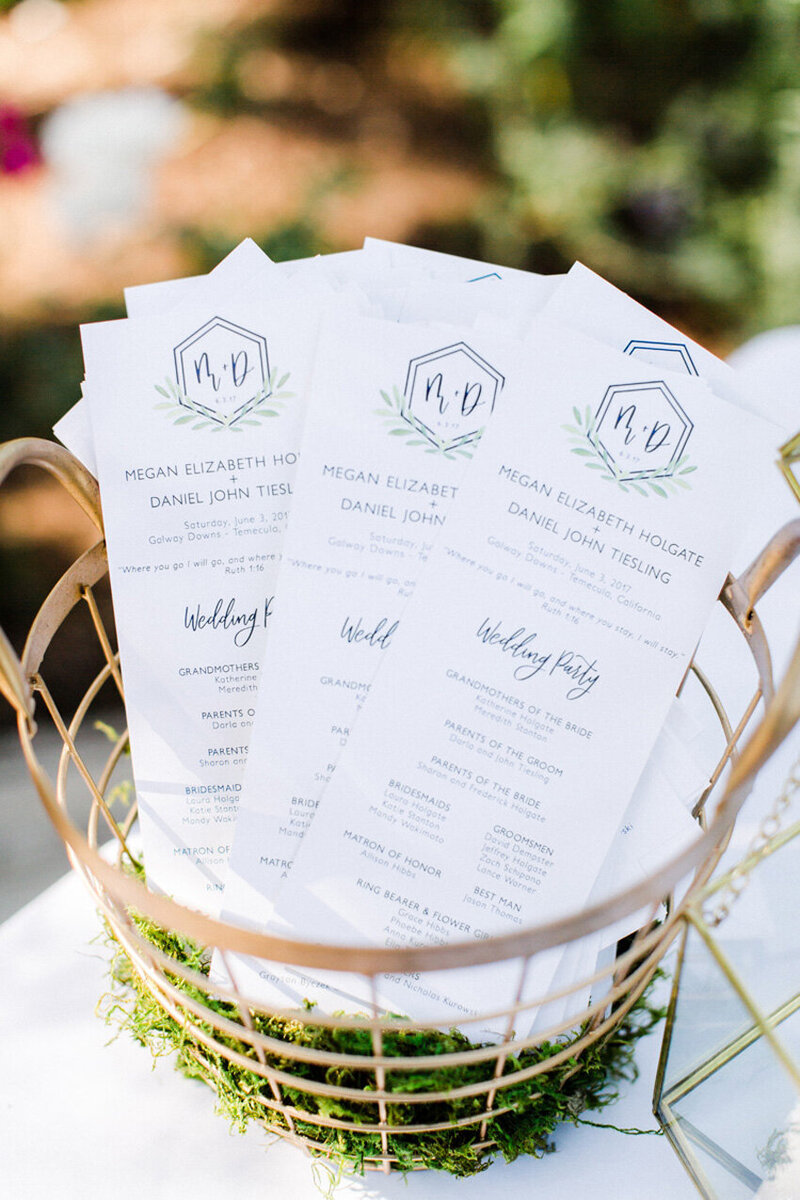pirouettepaper.com | Wedding Stationery, Signage and Invitations | Pirouette Paper Company | Menus + Programs 51
